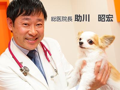 獣医師 助川 昭宏
